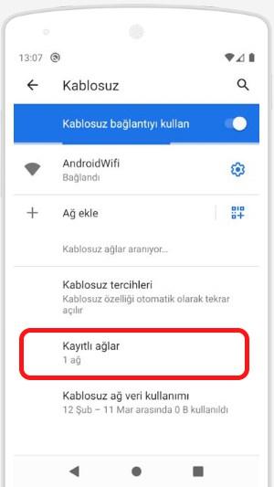 kayıtlı-wifi-şifresini-öğrenme-android