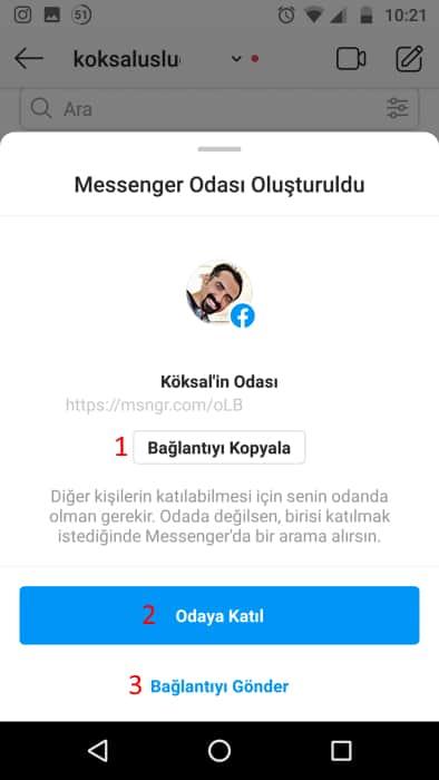 messenger-rooms-instagram-görüntülü-arama