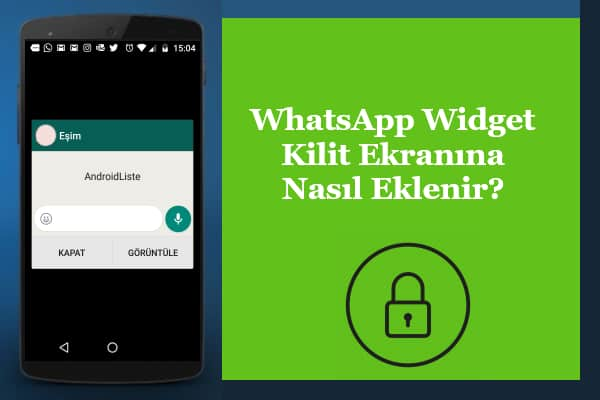 Whatsapp Widget Android