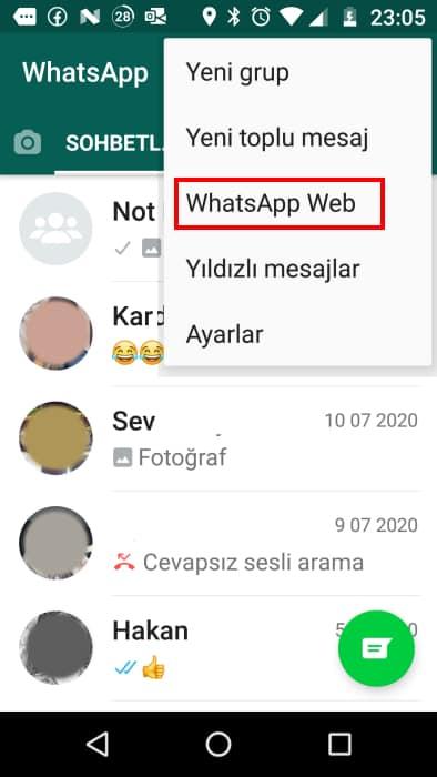 whatsapp-oturum-kapatma