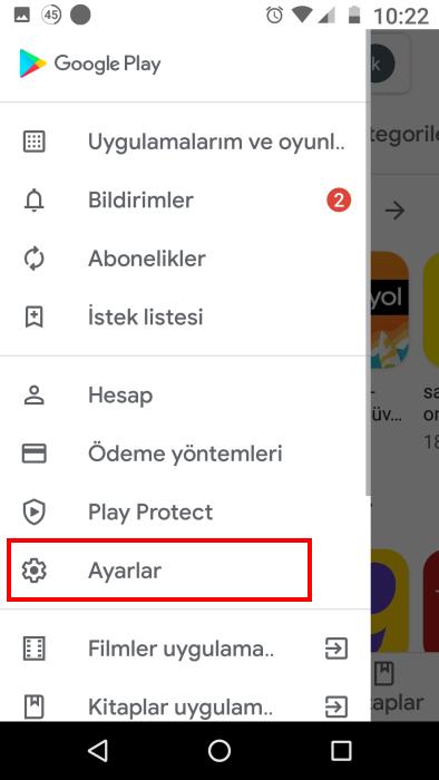 google-play-otomatik-guncelleme-kapatma