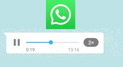 WhatsApp'ın Son Güncellemesi Sesli Mesajları Hızlandırmanı Sağlıyor