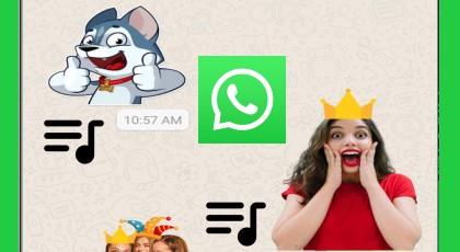 WhatsApp Hareketli ve Sesli Çıkartmalar Nasıl Oluşturulur?