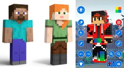 Minecraft Skin Oluşturma ve İndirme İçin En iyi Uygulamalar