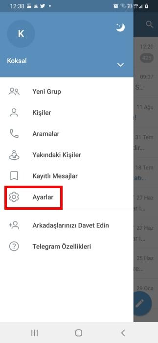 telegram-galeriye-kaydetme-kapatma