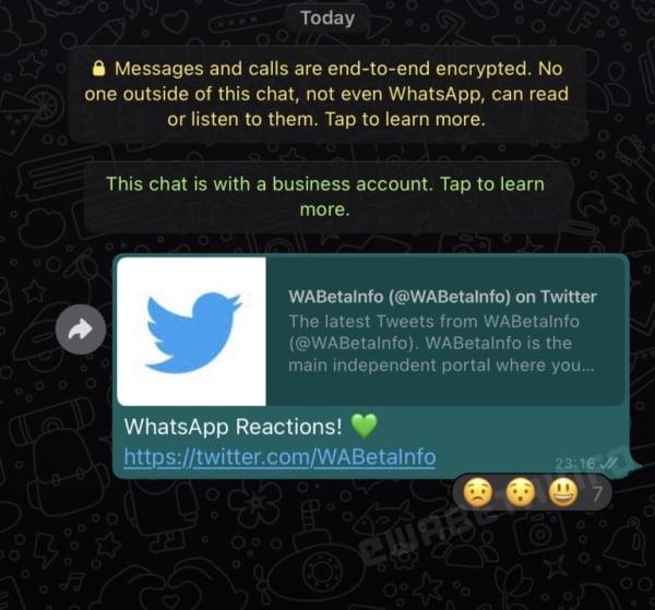 whatsapp-emojilerle-tepki