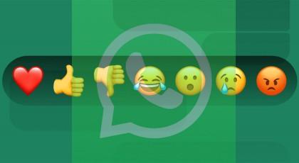WhatsApp Mesajlarına Emojilerle Nasıl Tepki Verilir?