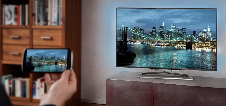 Картинка 5 Как подключить смартфон Android к телевизору