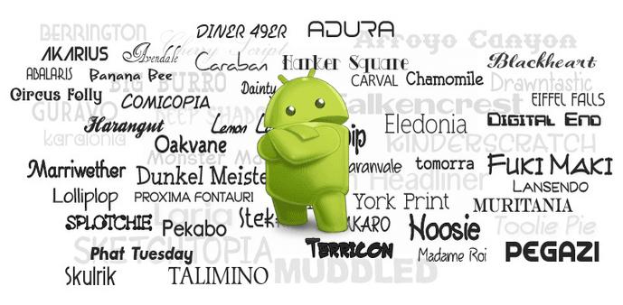 Картинка 1 Как поменять шрифт на смартфоне Android без root-прав