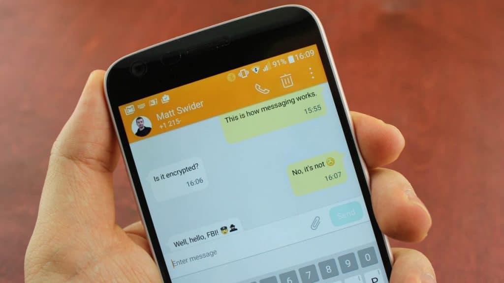 Как изменить приложение по умолчанию для SMS на Android