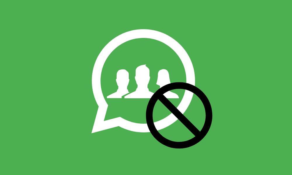 Как анонимно покинуть любую группу в WhatsApp на Android